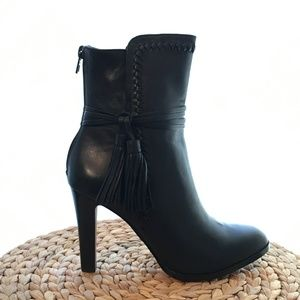 Coach Ankle Boots with Tassle